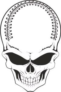 Base Ball Skull