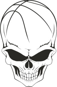 Basket Ball Skull