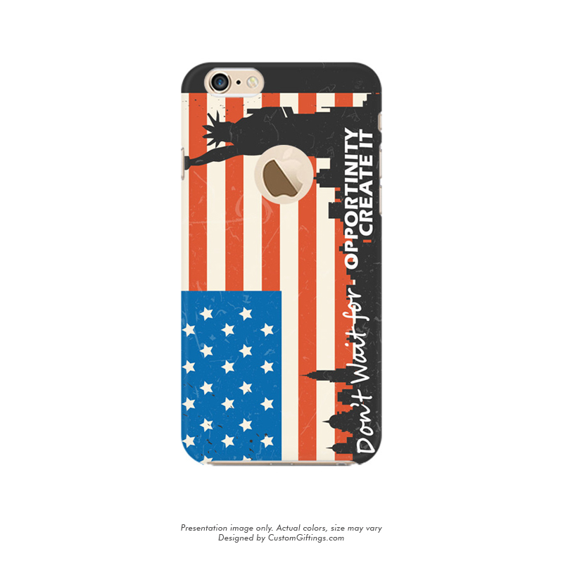 low priced e7a5f 3b445 iPhone 6 Mobile Case, Custom Printed US Flag