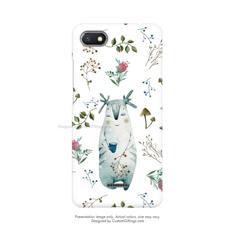 Xiaomi Redmi 6A Mobile Case, Custom Printed Autumn Pattern